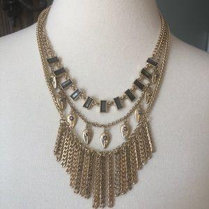 Lucky Brand Triple Strand Necklace